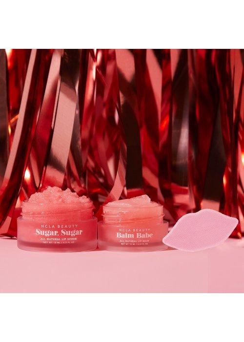 Pink Champagne Balm Babe Lip Care Trio Set