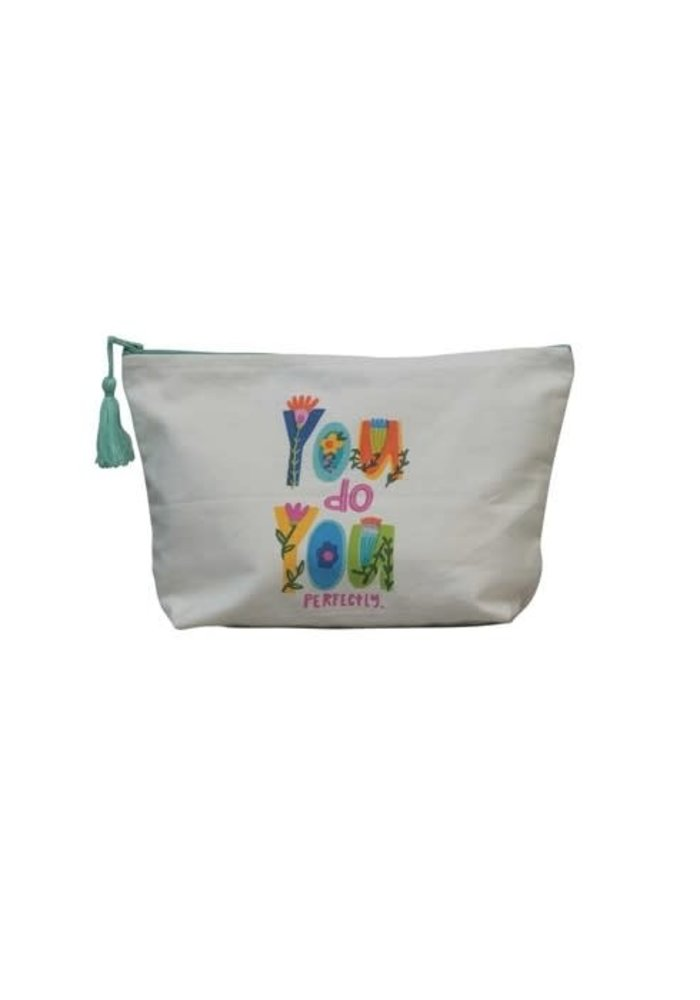 """""""You Do You Perfectly"""" Motivational Tassel Pouch"""