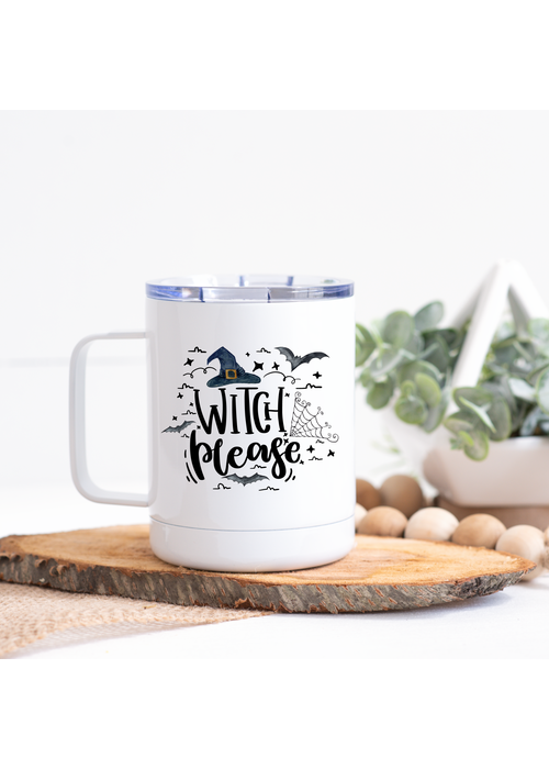 """""""Witch Please"""" Stainless Steel Tumbler"""
