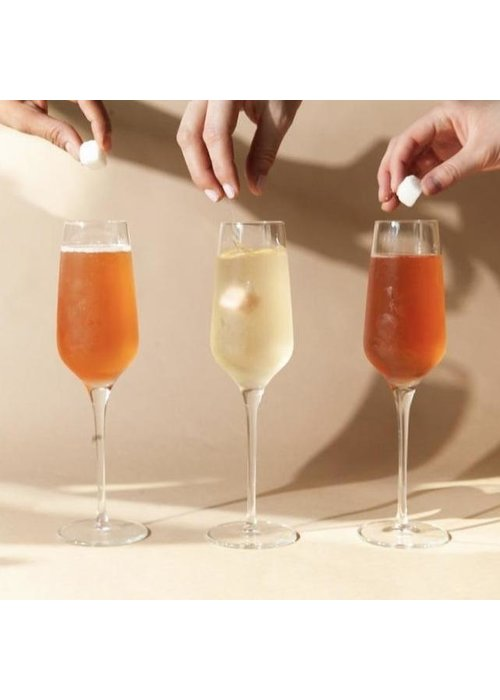 """""""Boujee Brunches"""" Instant Champagne & Mimosa Trio Set"""