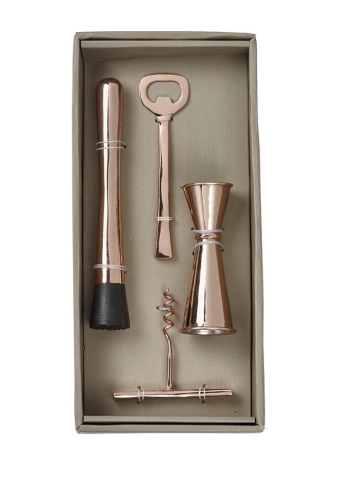 Copper Bar Essentials 4-Piece Boxed Gift Set