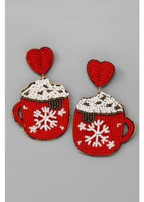 Cup of Love Earrings