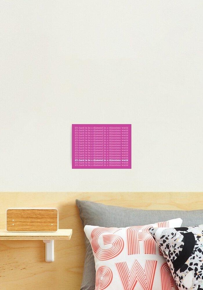 Pink Dolly Art Print