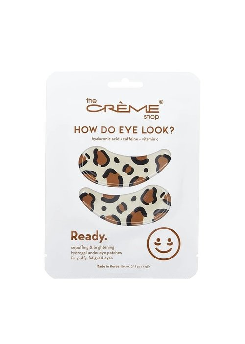 How Do Eye Look - Caffeine Eye Patches