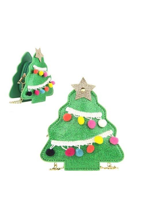 Mini Christmas Tree Crossbody