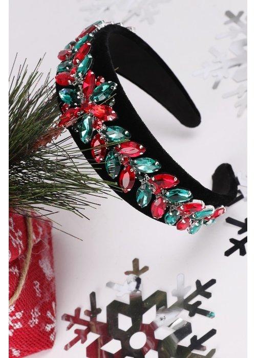 Christmas Holly Headband