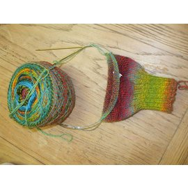 Ron Roberts Top Down Vanilla Sock- January (Saturdays @ 1:00 pm)