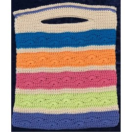 Fan Striped Tote Crochet Kit