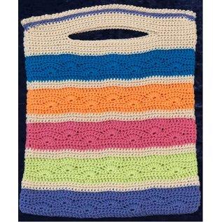 Fan Striped Tote Crochet Kit