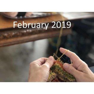 Ron Roberts Beginner Knitting - February