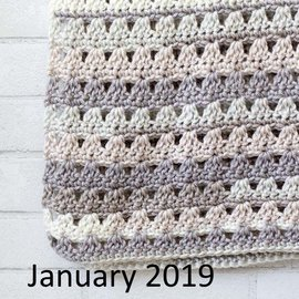 Beginner Crochet Class w/Mary Ann - January  (Tuesdays @ 6:45 pm)