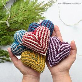 Class - Crochet Brioche Heart Saturdays, February 9th & 16th @ 1:00 pm