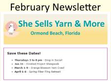 2019-02 February Newsletter