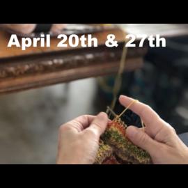 Beginner Knitting - Saturdays, April 20 & 27