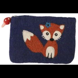 Frabjous Fibers Felted Bag - Fox