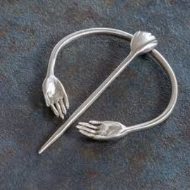 JUL Designs Gesture Penannular Brooch