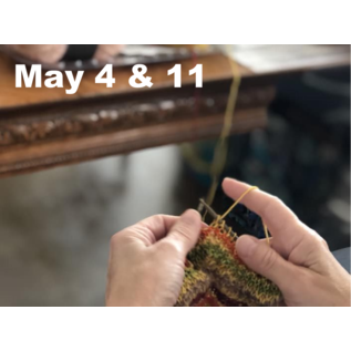 Beginner Knitting - Saturdays, May 04 & 11