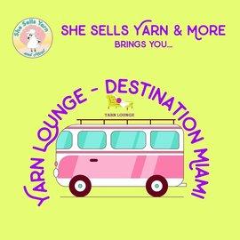 Yarn Lounge - Destination Miami - June 8th