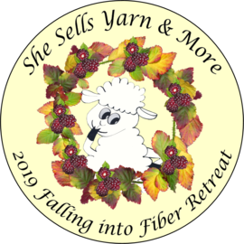 2019 Falling into Fiber Retreat - Oct 24 - Oct 28 (2nd Payment)