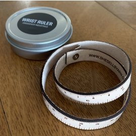 ILOVEHANDLES Leather Wrist Ruler - Light