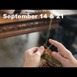 Beginner Knitting - Saturdays Sept 14 & 21 @ 10:00 a.m.