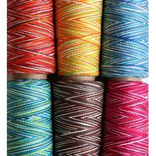 Ashford  Wheels and Looms Caterpillar Cotton - 406 Berries 200gm cone