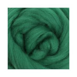 Ashford  Wheels and Looms Merino Sliver Fiber - 001 Kiwifruit 100 gram