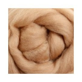 Ashford  Wheels and Looms Merino Sliver Fiber - 018 Cookie 100 gram