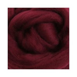 Ashford  Wheels and Looms Merino Sliver Fiber - 039 Aubergine 100 gram