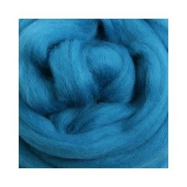 Ashford  Wheels and Looms Merino Sliver Fiber - 042 Lagoon 100 gram