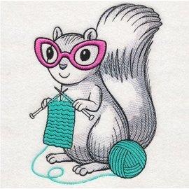 Wuthering Sheep Sock Sack - Knitting Squirrel
