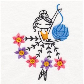 Wuthering Sheep Sock Sack - Knitting Ballerina