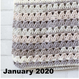 Beginner Crochet  - January 7, 14, 21 & 28 @ 1 PM