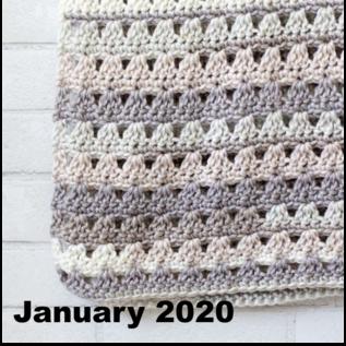 Beginner Crochet  - January 7, 14, 21 & 28 @ 1 PM
