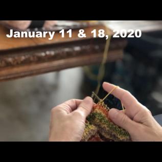 Beginner Knitting - Saturdays Jan 11 & 18 @ 10:00 am