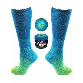 Knitting Fever Painted Sock - 102 Green Bay
