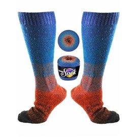 Knitting Fever Painted Sock - 108 Golden Gate