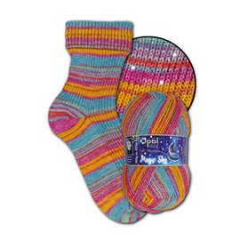 Zwerger Garn Opal Sock - Magic Sky 9805 - Morgenstern