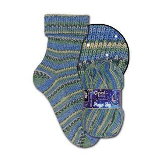 Zwerger Garn Opal Sock - Magic Sky 9801 - Milky Way