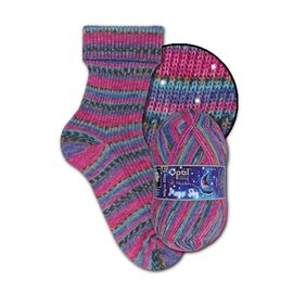 Zwerger Garn Opal Sock - Magic Sky 9800 - Solar Wind