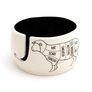 Lenny Mud Sheep Parts Yarn Bowl