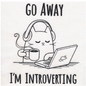 Wuthering Sheep Sock Sack Medium - Introverting