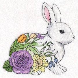 Wuthering Sheep Sock Sack Large - Woodland Blooms Bunny