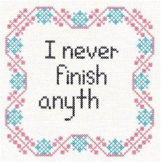 Wuthering Sheep Sock Sack Medium - I Never Finish Anyth