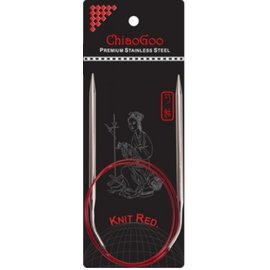 ChiaGoo ChiaoGoo Knit Red US 03 / 3.25mm 40 inch