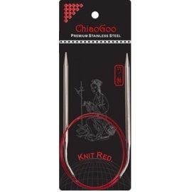 ChiaGoo ChiaoGoo Knit Red US 01 / 2.25 mm 32 inch