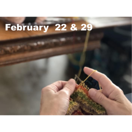 Beginner Knitting - Feb 22 & 29 @ 10 AM