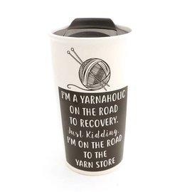 Lenny Mud Yarnaholic Travel Mug