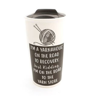 Lenny Mud Yarnaholic Travel Mug