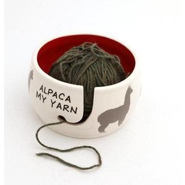 Lenny Mud Alpaca My Yarn Yarn Bowl
